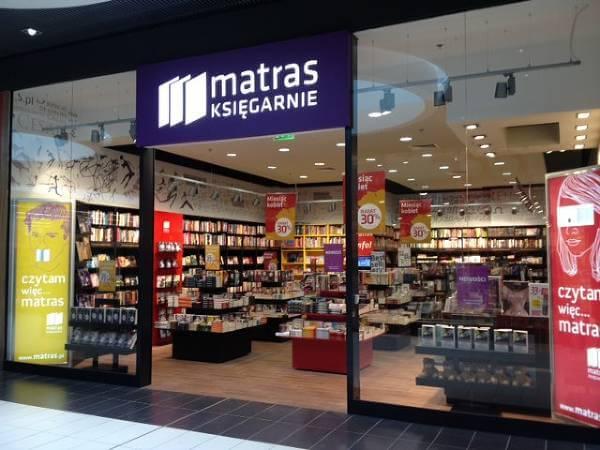 Jedna z księgarni Matras - zdjęcie z fanpage'a Matras na Facebooku.