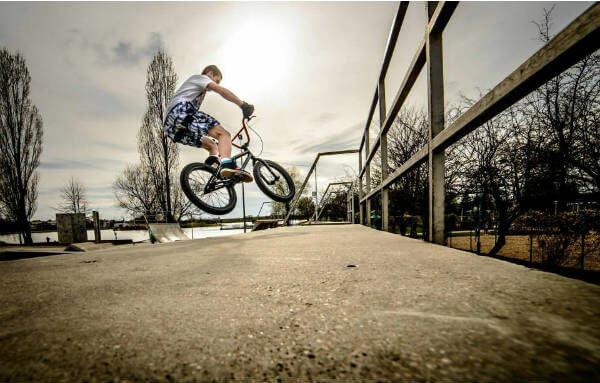 Przyjemność z jazdy na rowerze