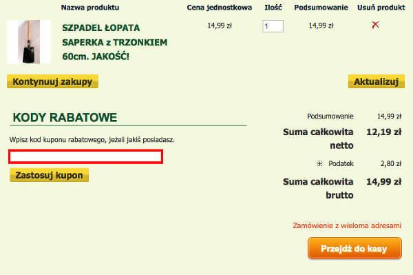 koszyk Gardenowo.pl