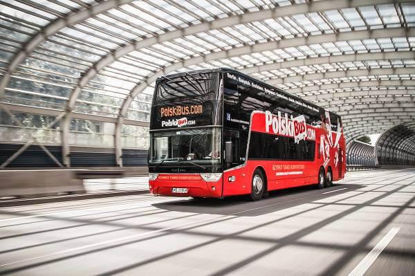 PolskiBus - przejazdy autokarowe