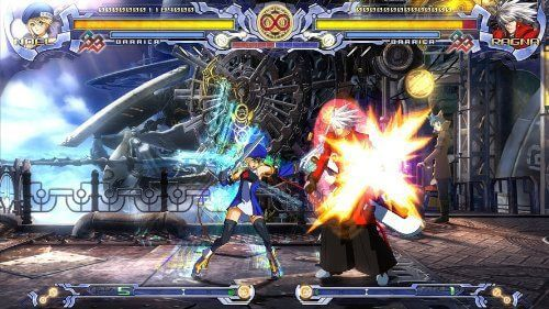 Wirtualny świat gier - zdjęcie z fanpage'a sklepu na Facebooku (zrzut ekranu z gry BlazBlue Calamity Trigger).