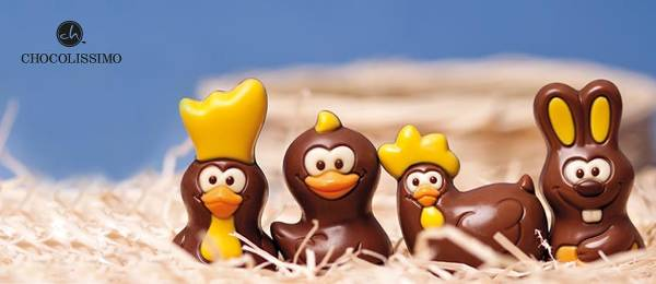 Oryginalne kształty i najwyższej jakości składniki - przykładowe czekoladki dostępne w Chocolissimo.