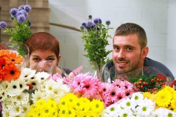Floryści współpracujący z FloraQueen - zdjęcie z fanpage'a kwiaciarni na Facebooku.