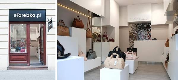 Pierwszy stacjonarny sklep eTorebka (Kraków) - zdjęcie z fanpage'a sklepu na Facebooku.