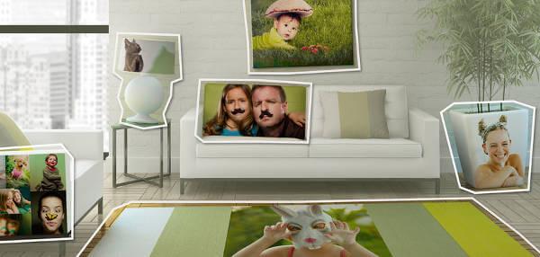 Korzystając z oferty Photobox można spersonalizować nawet wystrój mieszkania.