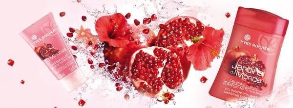 Kosmetyki Yves Rocher produkowane są na bazie roślin i minerałów - zdjęcie z fanpage'a sklepu na Facebooku.