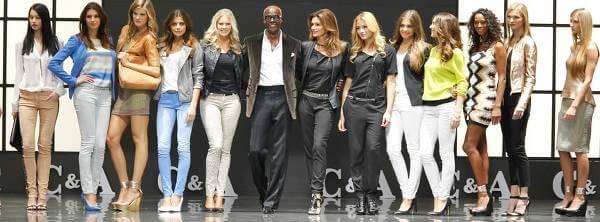Moda w C&A - zdjęcie z fanpage'a sklepu na Facebooku.