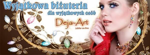 Unikatowa biżuteria Deja-Art - zdjęcie z fanpage'a sklepu na Facebooku.