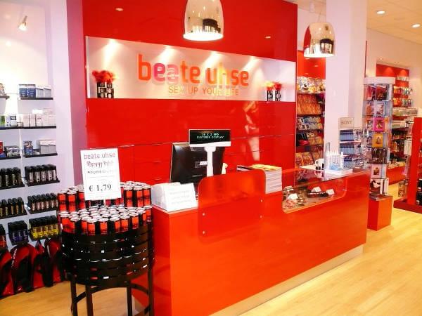 Jeden ze sklepów stacjonarnych Beate Uhse.
