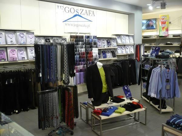 Sklep stacjonarny Jego Szafa w Rzeszowie - zdjęcie z fanpage'a sklepu na Facebooku.