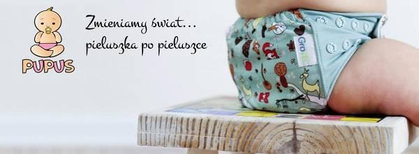 Kolorowe pieluszki wielorazowe - zdjęcie z fanpage'a sklepu na Facebooku.