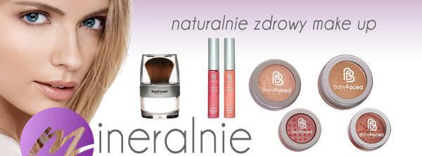 Przykładowe kosmetyki z Mineralnie - zdjęcie z fanpage'a sklepu na Facebooku.