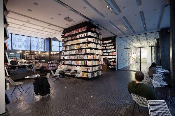 Księgarnia artystyczna Bookoff - zdjęcie z fanpage'a sklepu na Facebooku.