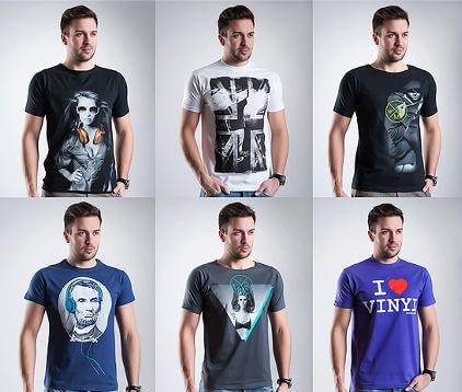 Muzyczne koszulki Embros - zdjęcie z fanpage'a sklepu na Facebooku.
