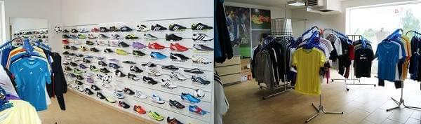 Sklep stacjonarny 4football w Wieruszowie - zdjęcie z fanpage'a sklepu na Facebooku.