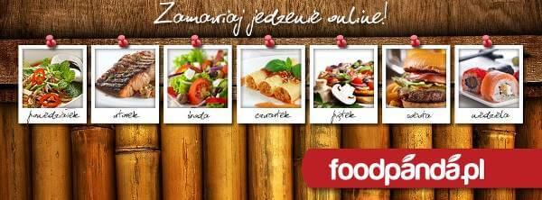 Bogaty wybór jedzenia na Foodpanda - zdjęcie z fanpage'a serwisu na Facebooku.
