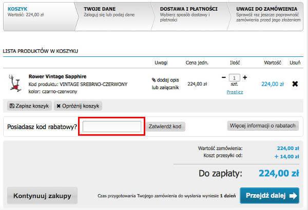 TopSlim.pl koszyk