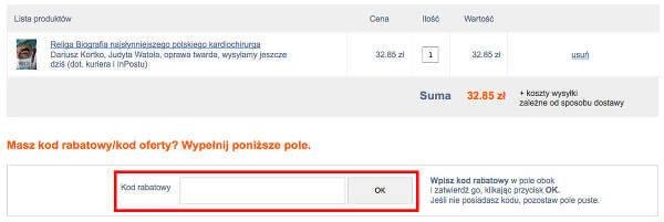 lideria.pl koszyk