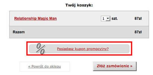 Feromony.pl koszyk
