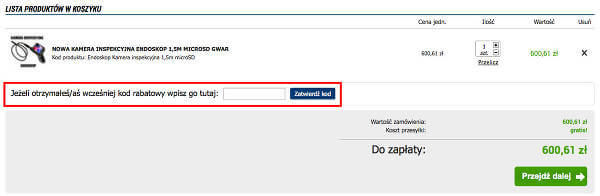 Plebis.eu koszyk