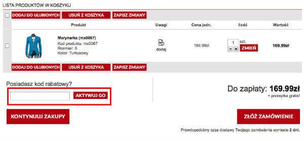 dstreet.pl koszyk