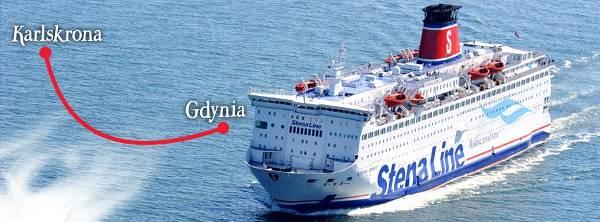 Jeden z promów Stena Line - zdjęcie z fanpage'a Stena Line na Facebooku.