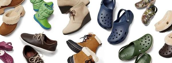 crocsy - rozne buty