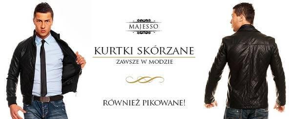 Modna odzież męska w Majesso.pl.