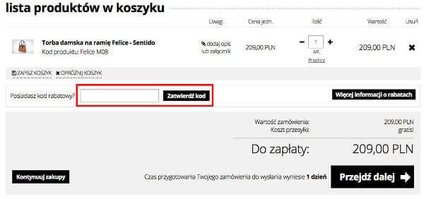 Felice.pl koszyk