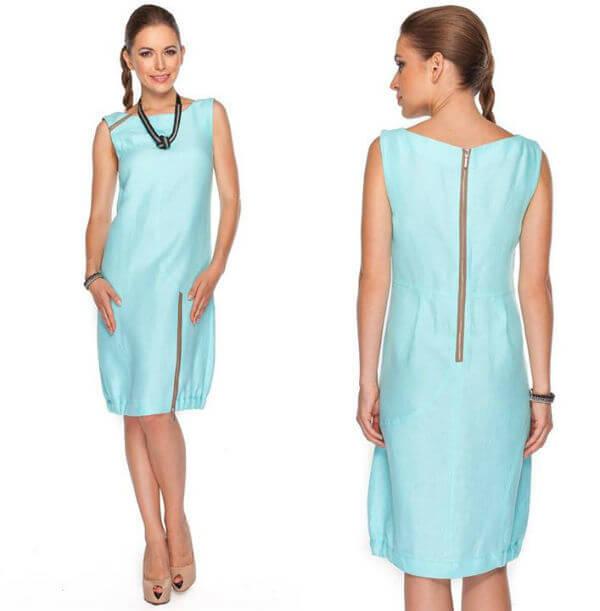 Balladine sukienka turkusowa