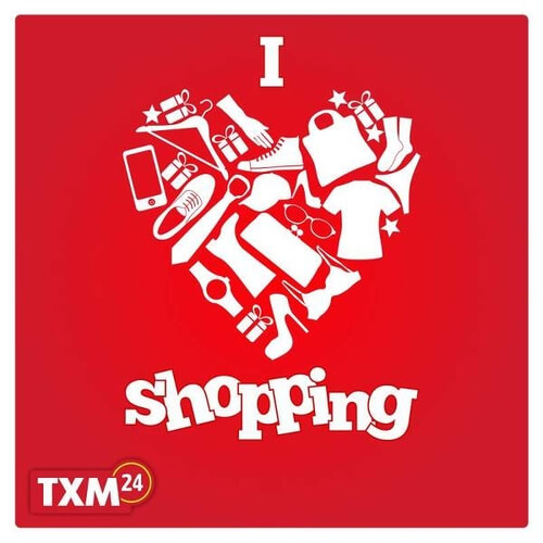 TXM24 - I love shopping