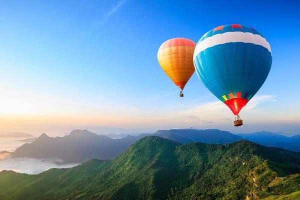 Katalog Marzeń - lot balonem
